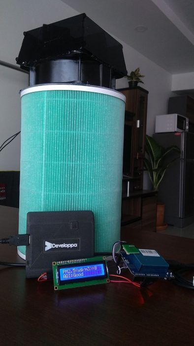 Make your own Arduino Air Purifier and AQI sensor