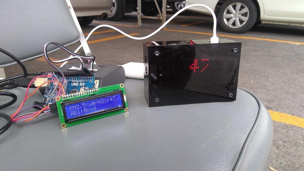 AQI sensor testing