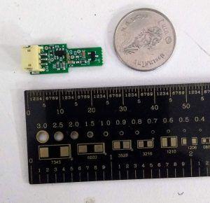 Tiny Hall Sensor Module for Current Sensing